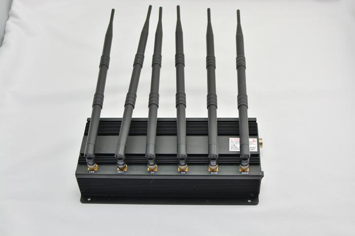 4G 電話の妨害機