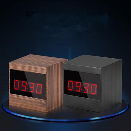置時計型防犯カメラ